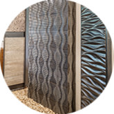Tiles, natural stone and porcelain stoneware